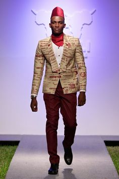 Martin Kadinda Runway Show - Swahili Fashion Week 2015 - Male Fashion Trends