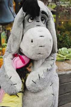 Eeyore hugs! Would love to go back to Disney World