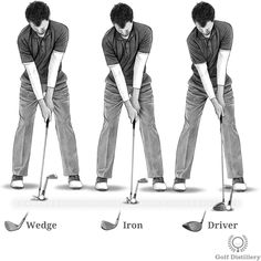 Use the Same Golf Swing for Every Club | Free Online Golf Tips Golf Tips Driving, Golf Putting Tips, Softball Shirts, Golf Exercises, Golf Lessons, Play Golf, Design Quotes, Olympic Games, Golf Ball