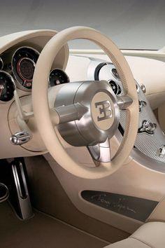 ♂ Luxury car Bugatti Veyron beige Interior #ecogentleman #automotive #transportation #wheels