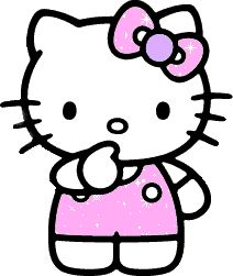 Hello kitty is so cute
