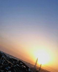 朝からいいお天気  #空 #太陽 #朝日 #朝焼け #イマソラ #いまそら #ダレカニミセタイソラ #写真好きな人と繋がりたい #写真撮ってる人と繋がりたい #photo #japan #landscape #日本 #風景 #instagram #igers #igersjp #sun #sunshine #sunrise #sunriselovers #igで繋がる空 #sky #skylovers #skyporn #skypainters #skyscraper  #photooftheday #instasky #instagood