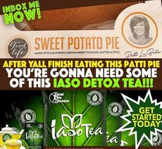 I'm not Patti BUT I have something that you will LOVE as well. Invest in YOURSELF, YOUR Health & Wellness!! Contact ME for this AWESOME DETOX...you're gonna need it! We have plenty of TEA in stock ready to ship. Order yours here: www.totallifechanges.com/4266271