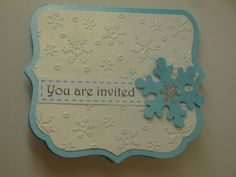 These adorable, Disney Frozen party invitations are cut and crafted completely by hand, and feature beautiful. Each invitation comes with a clear
