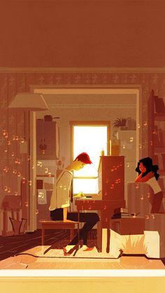 The Piano by ~PascalCampion on deviantART
