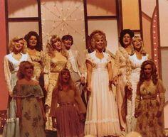 Jeannie Pruitt, Misty Rowe, Roni Stoneman, Karen Wheeler, Kitty Wells, Jeannie Seely, Connie Smith.