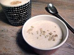 Fenkoli-vanilja-kookospannacotta