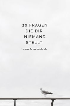 In diesen 20 Fragen, steckt das Potential unser Leben auf den Kopf zu stellen un… In these 20 questions, there is the potential to turn our lives upside down and get to know each other even better. 20 Questions, Feel Good, Good To Know, Live Love, Self Development, Motivation Inspiration, Self Improvement, Happy Life, Self Love