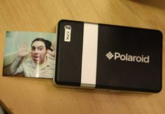 Polaroid PoGo Wireless Mobile Printer - prints instant stickers off a cell phone $150