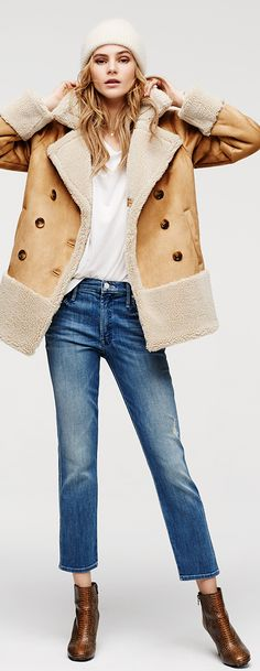 Mother Shearling Jacket