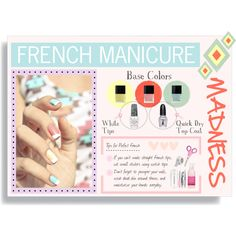 French Manicure: Pastel - Polyvore