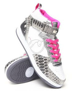 Love this Mariah Studded Python Sneaker by Baby Phat on DrJays. Take a look and get off your next order! Baby Phat Clothes, Dope Clothes, Loafer Shoes, Loafers, Dope Outfits, Python, Best Sellers, High Tops, Tennis