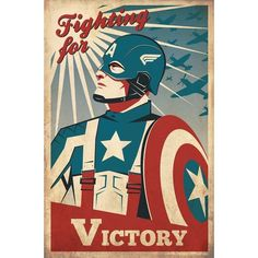Fashion and Action More Great Captain America Fan Art Posters ❤ liked on Polyvore featuring home, home decor, wall art, cat home decor, captain america poster, kitten poster, kitty poster and cat wall art