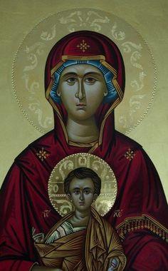 Αγιογράφος - Αγιογραφιες - Βyzantine icons - Παναγία - Virgin - Богородица