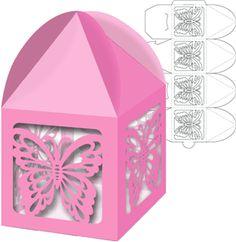 Silhouette Online Store: box tent top butterflies