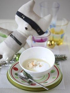 Суп-пюре с крабовым мясом