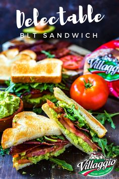Elevate your standard BLT sandwich with this delectable recipe!
