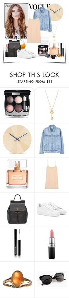 """""""Casual Style..."""" by andyts ❤ liked on Polyvore featuring Chanel, Kate Spade, Discipline, MANGO, Givenchy, Raey, Dolce&Gabbana, adidas, Marc Jacobs and MAC Cosmetics"""