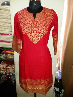 Indian Bollywood Kurta Kurti Designer Women Ethnic Dress Top Tunic Pakistani New in Clothing, Shoes & Accessories | eBay