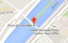Pont de Grenelle: carte