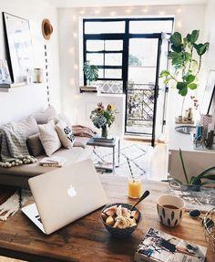 Acogedora y luminosa sala de estar