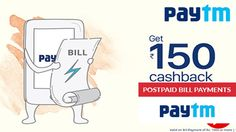 How to submit the postpaid bill on Paytm
