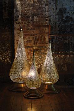 Antique brass moroccan floor lamp furniture pinterest moroccan moroccan floor lamp aloadofball Images