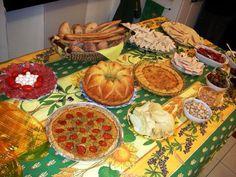 {Ricette bimby} :: Buffet per la festa di compleanno del mio Beppe!!!