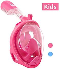 adepoy Full Face Snorkel Mask, Snorkeling Mask for Adults and Kids with Detachable Camera Degree Large View Dry Top Set Anti-Fog Anti-Leak 10 Years Girl Dress, Full Face Snorkel Mask, Birthday Presents For Girls, Mermaid Tails, Girls Club, Disney Cruise, Snorkeling, Aesthetic Pictures, Kids