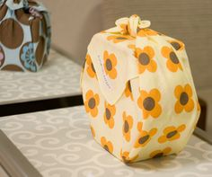 To wrap an object with a Furoshiki is easy - to make it look amazing