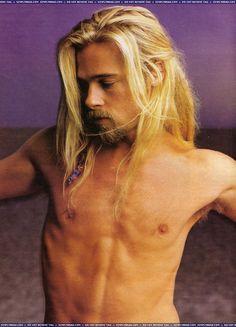 Brad Pitt by Annie Leibovitz, 1994.