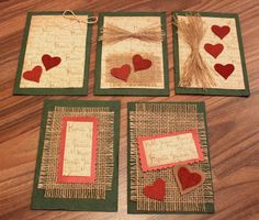 Kädenjälkiä - handmade by Eva: Joulukortit Christmas Cards, Rugs, Handmade, Home Decor, Cards, Card Crafts, Christmas E Cards, Farmhouse Rugs, Hand Made