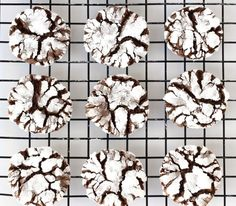 These easy Chocolate Crinkle Cookies are so so so delicious! If you try taking them to a party... beware, they utterly will vanish!
