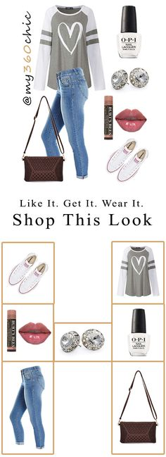 Click to shop this look! Women's Autumn Fall Fashion Inspo Outfits. Chic and Super Laid Back. Cropped Denim Jeans, Grey Pullover Sweater, Converse All Star Shoes, Vintage Shoulder Handbag, Clear Crystal Stud Earrings, Natural Lip Gloss by Burt's Bees, Nail Polish by OPI for a put together chic autumn outfit. #autumnoutfits #autumnoutfitcasual #autumnoutfitcute #autumnoutfitshopthislook #autumnoutfitshopcute #autumnoutfit2020 #autumnoutfitchic #womensfashion #cuteautumnoutfits #autumn #fall Casual Fall Outfits, Autumn Outfits, Black Chelsea Boots, Trendy Fashion, Fall Fashion, Womens Fashion, Fashion Tips, Black Ankle Booties, Black Leather Handbags