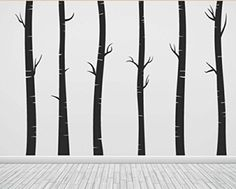 Large Birch 6 Trees Wall Decal Sticker Living Room Tv Background Stickers Vinyl Removable Black Color QINU KEONU http://www.amazon.com/dp/B00KOASZXU/ref=cm_sw_r_pi_dp_ElqZub0NBVWTW