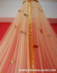 Pink MagaLine: DIY Project: How To Make A Canopy Mosquito Net