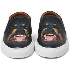 Givenchy - Rottweiler Leather Skate Shoes|MR PORTER