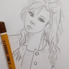 Sketching ✏ #sketchbook #sketch #anime #animefan #manga #animation #art #illustration #oc #wella_lolo #girl #egypt #pencil #doodle #doodling #화이팅 #한국 #미술 #예쁜 #와 #سكتش #مصر #رسمتى #خربشات