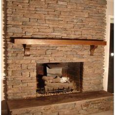 Modern Corner Fireplace Ideas In Stone Pictures: Archaiccomely Corner Fireplace Ideas In Stone Wooden Brown Shelves Single Brick Wall Accessories