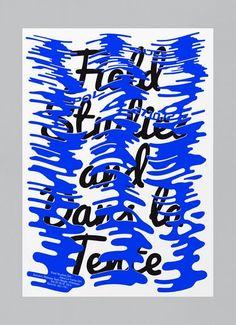 Felix Pfaeffli #typography #poster