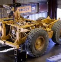 Time lapse video CAT Rebuild 1785 man hours to rebuild Cat truck Man Hour, Cat Gif, Monster Trucks, Gallery, Cats, Vehicles, Gatos, Kitty Cats, Cars
