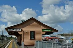 """Another favourite coffee place, and now the office is going to be straight across the road. A typical old style railway station, now the """"Pumped"""" Café - Glen Eden Glen Eden, Nz History, Coffee Places, Train Station, Auckland, What Is Like, Cemetery, Kiwi, West Coast"""