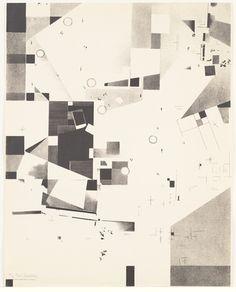 Kurt Schwitters. Plate 6 from Merz 3. Kurt Schwitters 6 Lithos. Merz Portfolio. First Portfolio of the Merz Publisher (Merz 3. Kurt Schwitters 6 Lithos. Merz Mappe. Erste Mappe des Merverlages). 1923