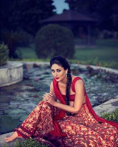 Kareena Kapoor in a beautiful Lehenga Saree