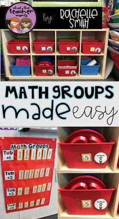 What the Teacher Wants!: Math Quick Checks and Guided Math Groups Kindergarten Classroom, Teaching Math, Classroom Ideas, Elementary Math, Teaching Ideas, Future Classroom, Classroom Organization, Classroom Management, Maths