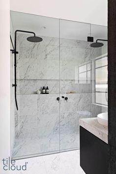 Laundry In Bathroom, Bathroom Renos, Bathroom Renovations, Bathroom Ideas, Small Bathroom With Bath, Master Bathroom, Timeless Bathroom, Bathroom Design Luxury, Shower Remodel