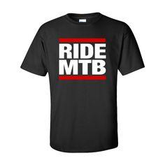 RIDE MTB - Custom T-Shirt(Etsy のCreativeCustomsGAより) https://www.etsy.com/jp/listing/221599764/ride-mtb-custom-t-shirt
