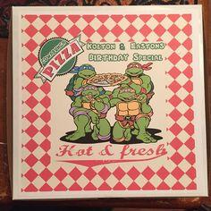 Diy pizza goody boxes