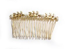 Six Stem Hair Comb.