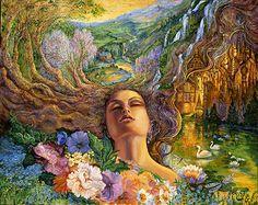 Sweet Repose by Josephine Wall